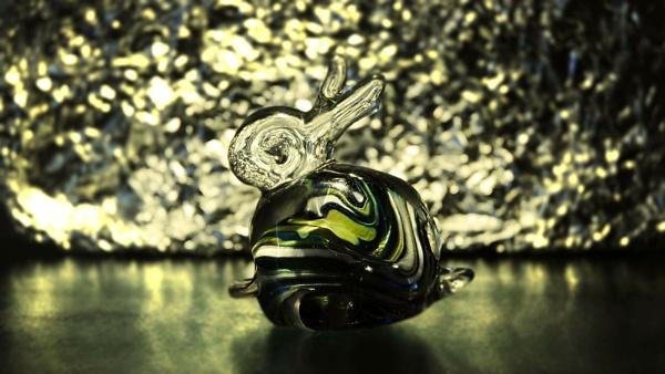 Medina Glass Bunny by AliceLuisePhotography