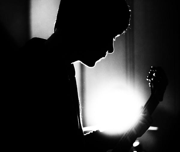 Dan the guitar man by IronBee