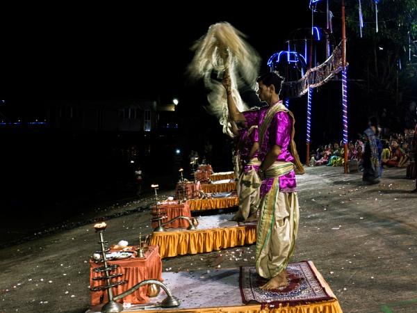 subordination to the river Ganga by Sandipan