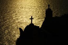 Santorini.