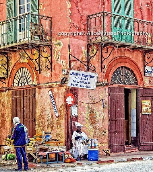 Street life in Saint Louis, Senegal by AliceM