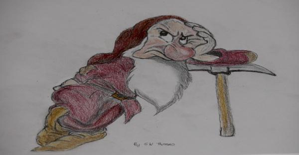 not a happy bunny by sparrowhawk