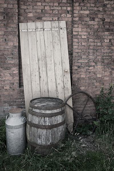 Stable Yard Junk by Gavin_Duxbury