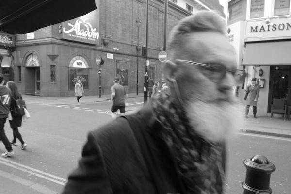 Man with Beard by selhurstboy