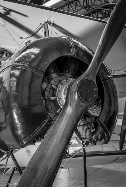 Avro 504 engine by yorkie1964