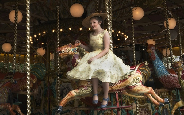 The Ride on the Carousel by judidicks
