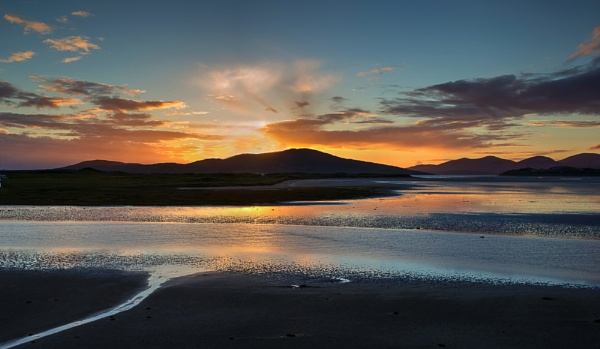Harris Sunset by Irishkate
