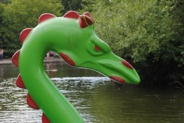 Loch ness monster? by Chinga