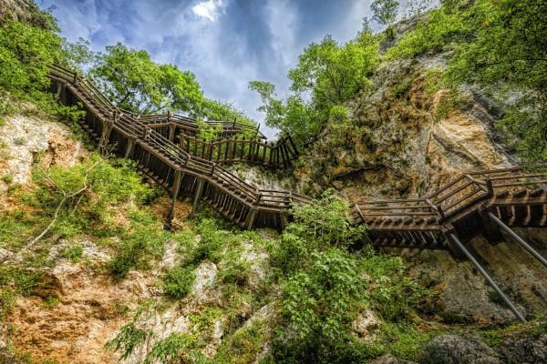 Stairways to Ozidjana Cave by Archangel72