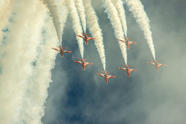 red arrows eastbourne by arnieg