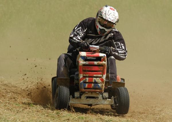 Lawnmower racing by colin beeley