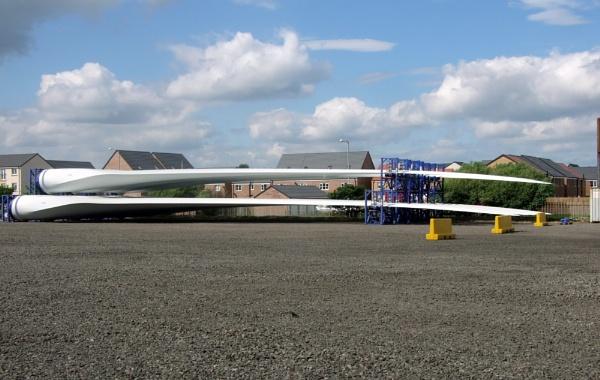 wind turbine blades by sandy22