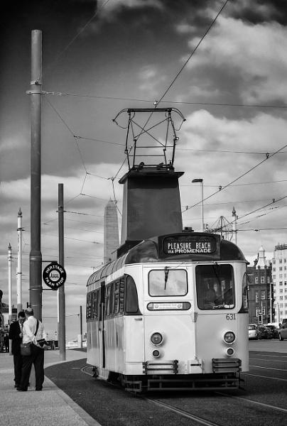 Blackpool Tram by xwang