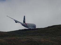 Flying a bit low