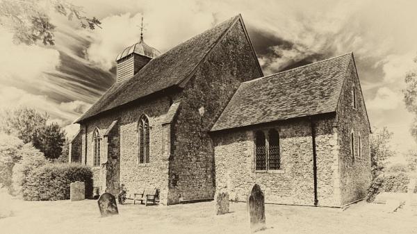 St Rumwold, Bonnington, Kent by Terry L