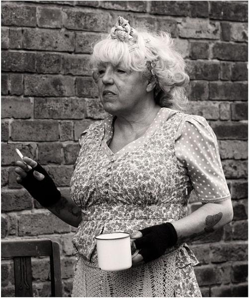 On a Tea Break by dark_lord