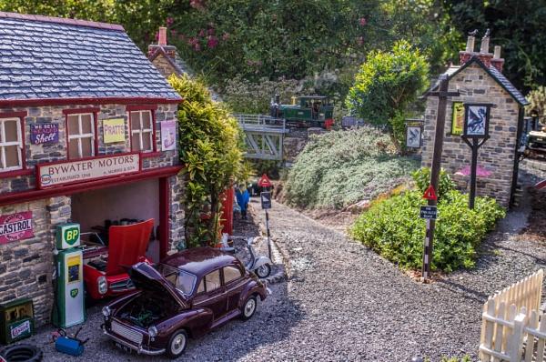 Garden Railway by bwlchmawr
