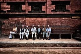 Sitting, Nepalese Style
