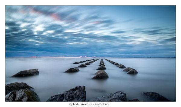 Sea Defences by Philpot