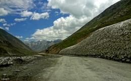 Way to Kargil Town