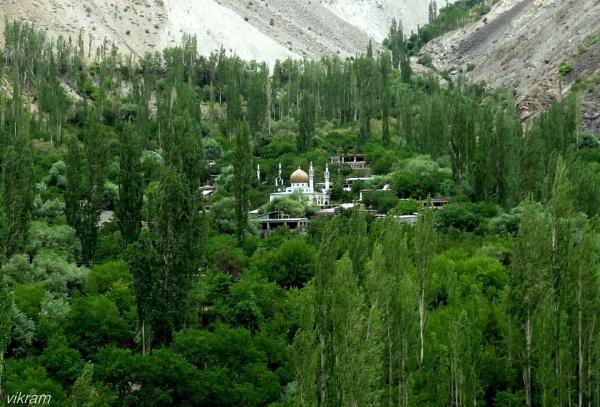 Near Kargil Town by Bantu