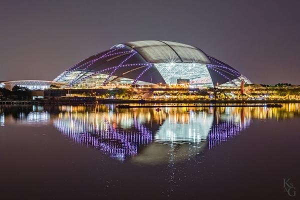 National Stadium, Singapore by ksag