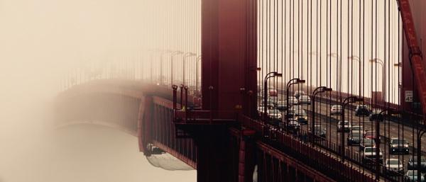 Commute through the mist by Mrpepperman