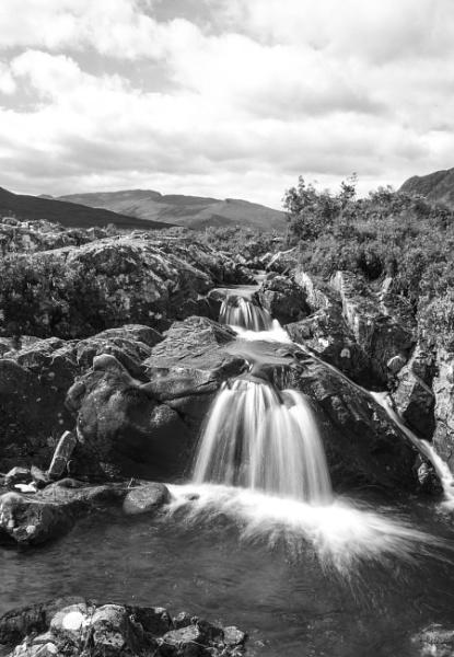 waterfall by SCUBAMAN
