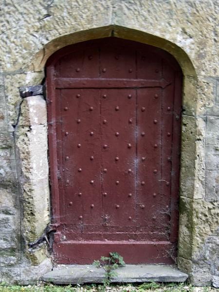 Church door by Meditator