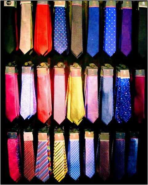 The Ties that Blind by ken j.
