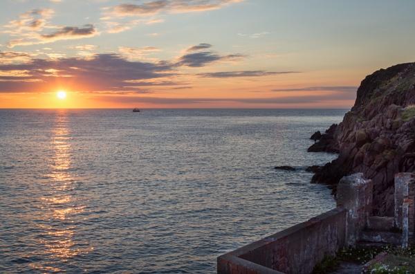 Sunset at Portrush by billmyl