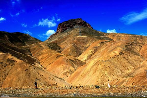 Way to Leh City by Bantu