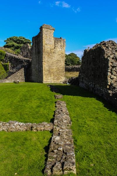 Pickering Castle by Bluemoon97