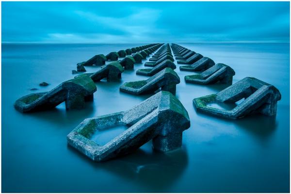 Sea Defences by Satlight