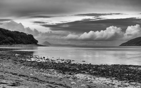Loch Ryan view to Ailsa Craig by Backabit