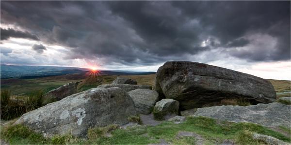 Last Light On Higger Tor by Somerled7