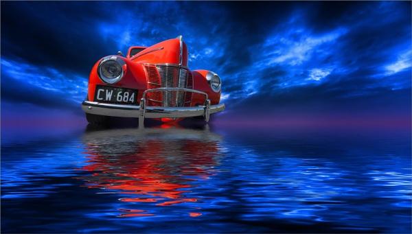 Red & Blue by BarryBeckham