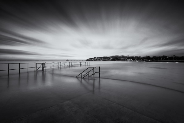 Moody Mono Marine Lake. by creativefocus