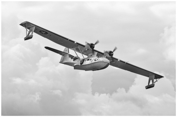Catalina Flying Boat by malleader
