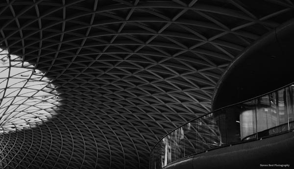 The Dark city  Kings Cross Station by StevenBest