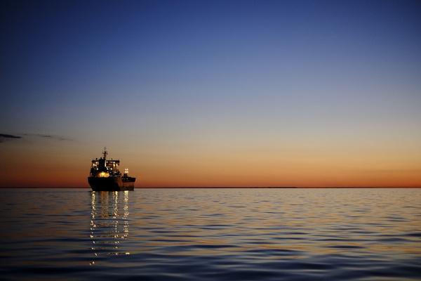at anchor-Lake O by gordymohr