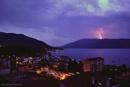 Thunderstorm in Montenegro