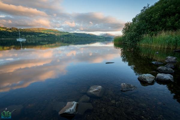 Bala Lake Sunset by jamesgrant