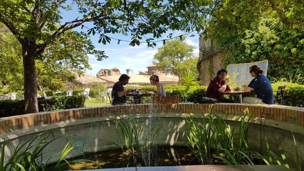 The French tea garden by Lightthouseman