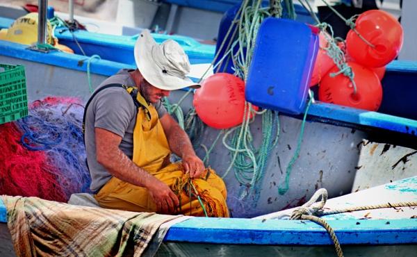 Corsican Fisherman by nanpantanman