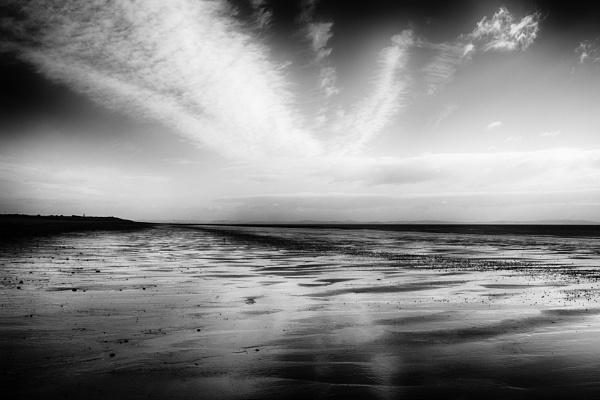 August Sky  New England Bay by Backabit