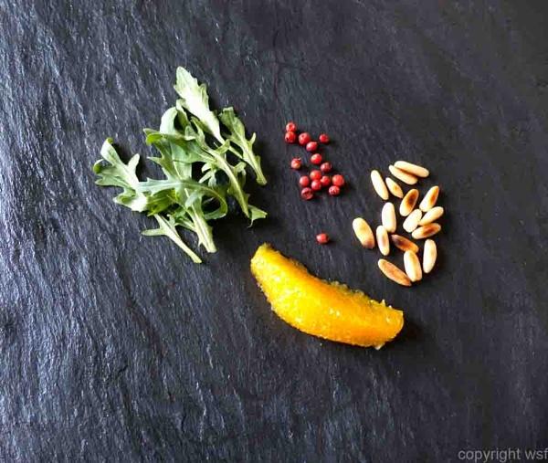 Rocket salad ingredients by wsfeph