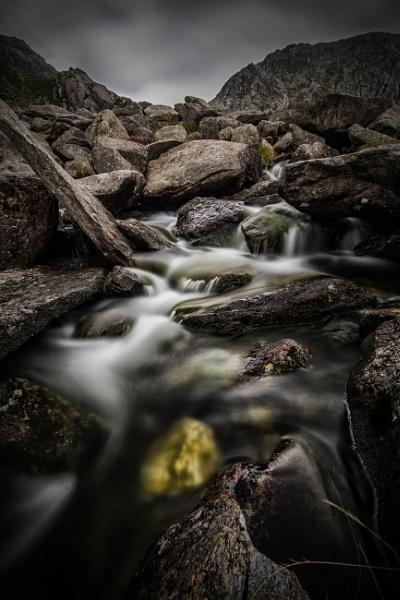 Mountain Stream by Brenty