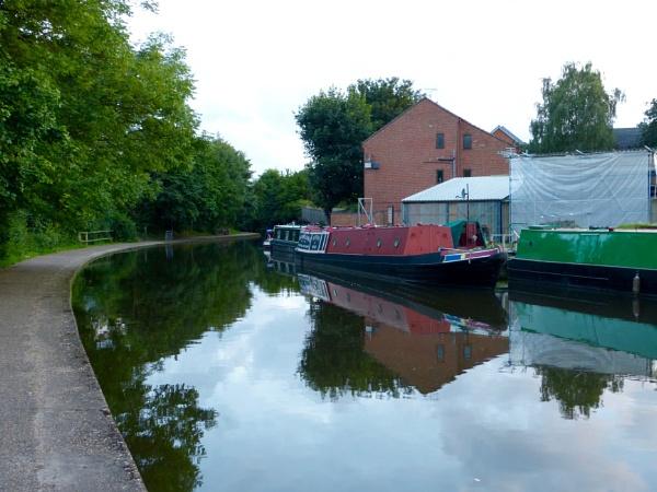 Nottingham canal at Lenton by smitbar
