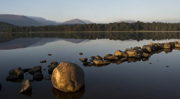 Dawn at Loch Morlich by GAJ
